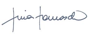 Unterschrift Tina Tomasch